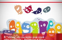 """SÉRIE: 8 """"vilões"""" do coração que você não conhecia – Bactérias e Vírus"""