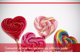 Consumir açúcar em excesso na infância pode acarretar em doenças cardíacas no futuro