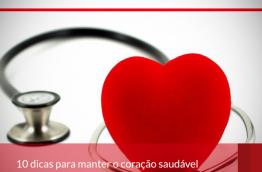 10 dicas para manter o coração saudável.