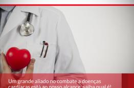 Um grande aliado no combate a doenças cardíacas está ao nosso alcance, saiba qual é!
