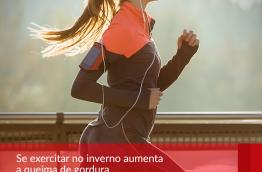 Se exercitar no inverno aumenta a queima de gordura