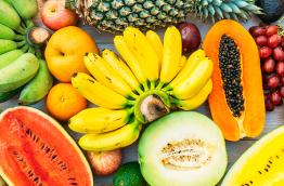 Frutas diferentes para comer durante a semana