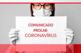 Comunicado para a contenção do COVID-19